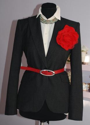 # zara удлиненный  пиджак тренч (1-074)