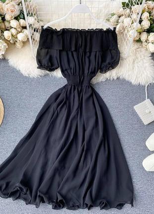 Лёгкое шифоновое платье 👗