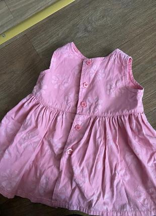 Платье на девочку 3-6 мес