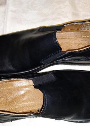 Туфли мужские размер 44 черные