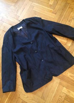 Удлиненный пиджак,жакет,блейзер,эко замша,delmod