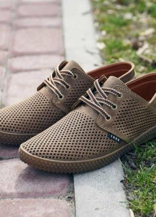 Туфли мокасины кожа натуральная