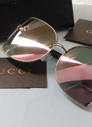 Новые очки с розовой линзой