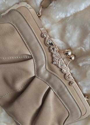 Красивая сумка клатч
