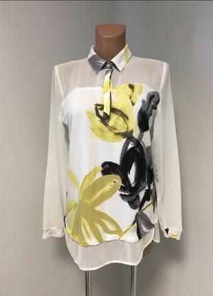 Классная блуза рубашка свободного кроя