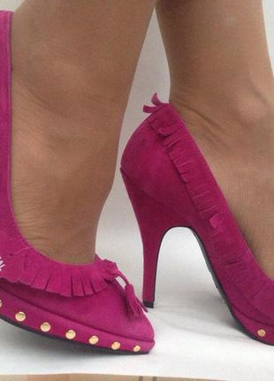 Туфли лодочки на высоком каблуке шпильке new look5 фото
