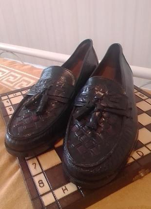 Туфли мужские италия натуральная кожа винтаж