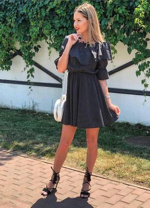 Платье из ткани софт