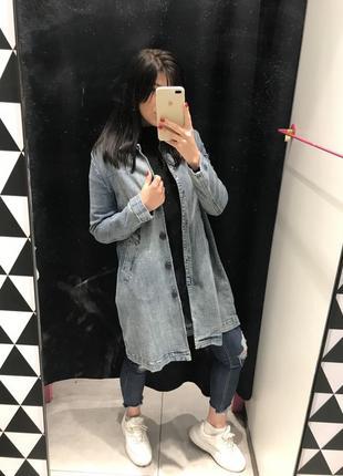 Джинсовая курточка платье3 фото
