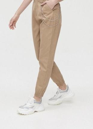Джогери з ланцюжком cropp брюки, штаны, джоггеры, джинсы