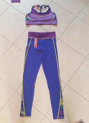Спортивный костюм yamamay для тренажёрного зала