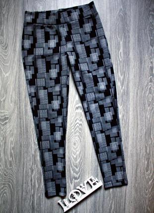 Леггинсы лосины плотные р. 48