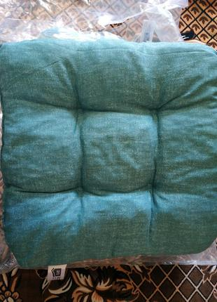 Комплек 4 шт, подушки для стульев.