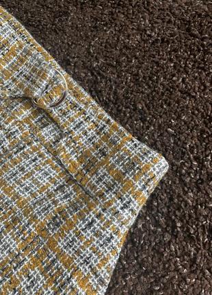 Твидовая трендовая юбка