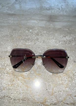 Женские коричневые очки с поляризацией