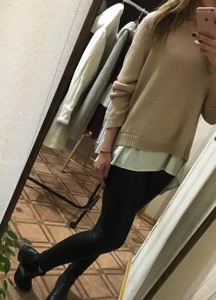 Шикарный класический изысканный свитер кофта(бесплатная доставка)