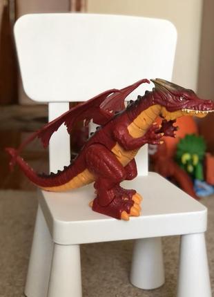 Інтерактивний вогняний дракон