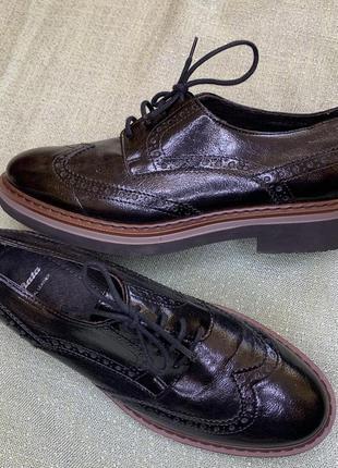 Туфли bata италия кожа р.38