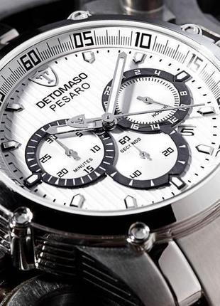 Detomaso pesaro , часы из германии . 100% оригинал .