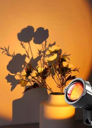 Лампа закат/ закатная лампа/ sunset lamp/ led lamp
