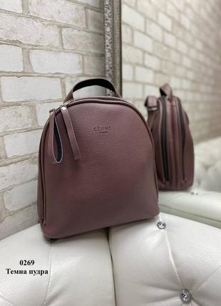 Рюкзак сумка, две молнии
