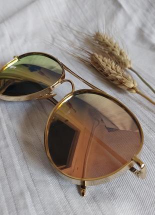 Зеркальные фотохромные очки