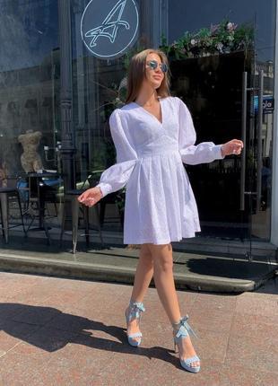 Платье прошва белий беж синий 😉