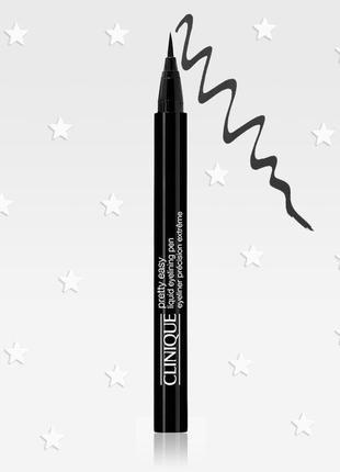 Жидкая подводка для век clinique pretty easy liquid eyelining pen black 0.67g
