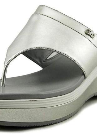 Брендовые сандалии/босоножки cole haan silver womens cecily grand thong open toe casual