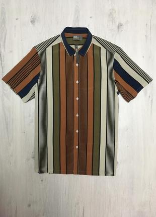 Летняя лёгкая рубашка asos с коротким рукавом / тениска / шведка