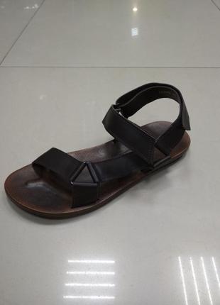 Кожаные сандалии спортивные