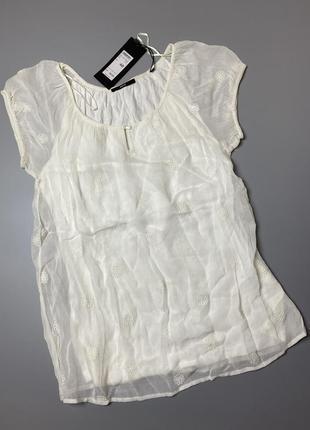 Блуза короткий рукав футболка zero германия xs 34