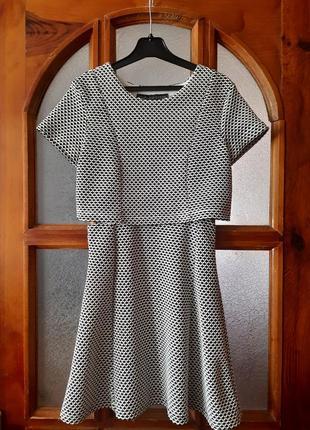 Платье как топ с юбкой размер eur -34