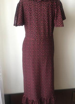 Красивое платье в винтажном стиле8 фото
