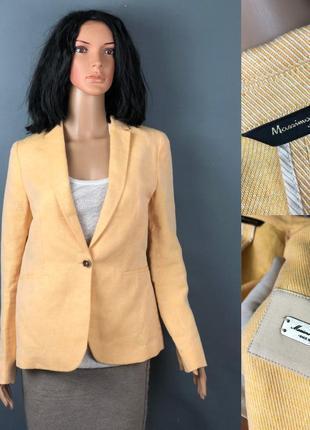 Massimo dutti оригинал пиджак жакет лён и хлопок