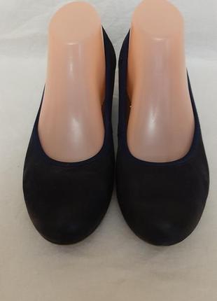 Кожаные туфли, бренд  roberto santi active p.41 стелька 26,5 см