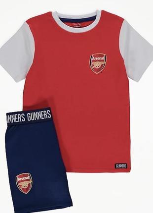 Новая футбольная форма арсенал футболка шорты george