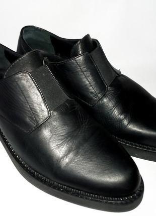 Asos мужские туфли лоферы из натуральной кожи 41—42  размер4 фото