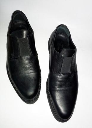 Asos мужские туфли лоферы из натуральной кожи 41—42  размер5 фото