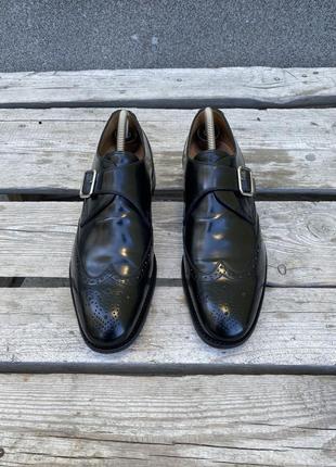 Оригинал кожаные монки charles tyrwhitt england туфли ручной работы