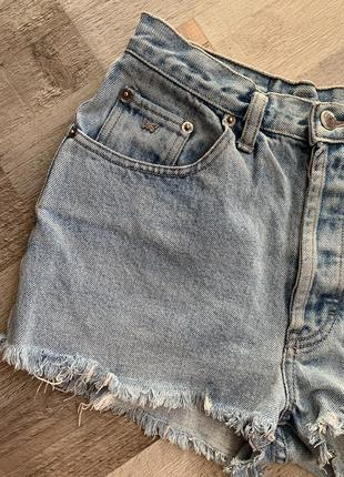 Крутейшие шорты, джинсовые с высокой посадкой