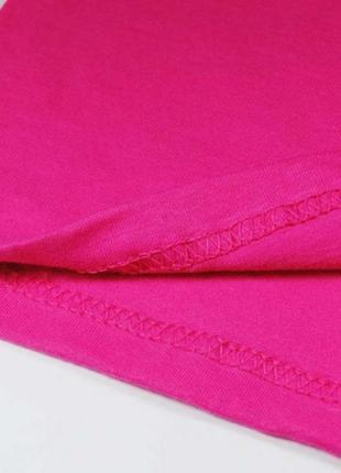 Крутая яркая оверсайз красивая футболка цвет малина 100% хлопок базовая2 фото