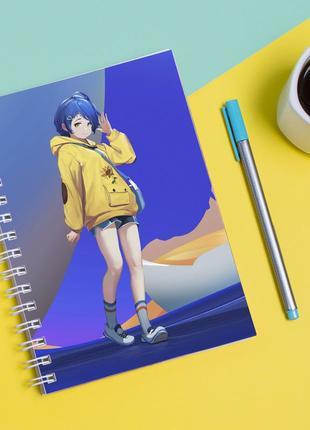 Скетчбук sketchbook для рисования с принтом приоритет чудо-яйца