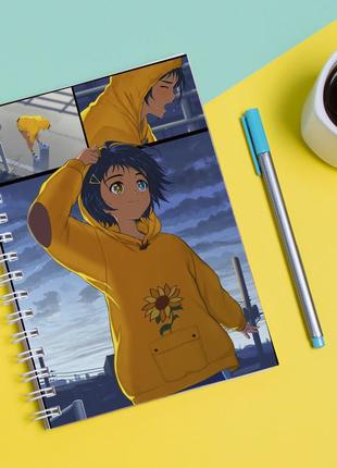 Скетчбук sketchbook для рисования с принтом приоритет чудо-яйца 1
