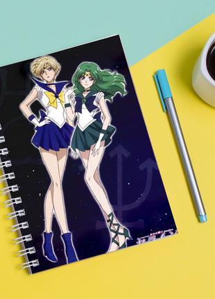 Скетчбук sketchbook для рисования с принтом сейлор мун-sailor moon