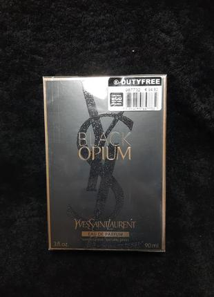 Black opium yves saint laurent блек опиум духи женская парфюмированная вода 90мл