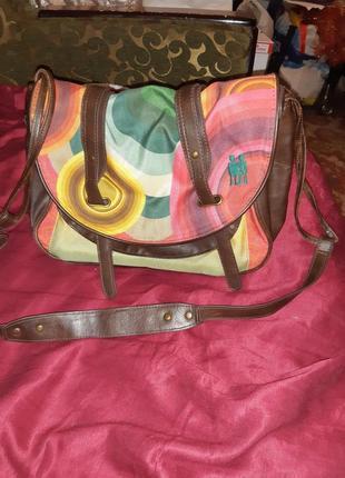 Desigual фирменная сумка оригинал из шотландии.