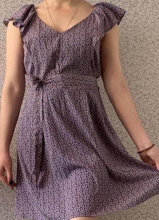 Невесомое летнее платье