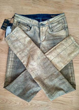 Золотистые джинсы bonobo jeans