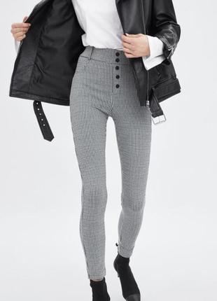 Классические брюки леггинсы класичні приталені штани легінси